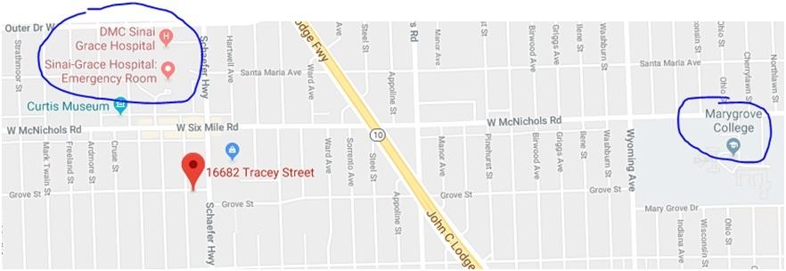 MAP 16682-Tracey-St-Detroit-MI-48235
